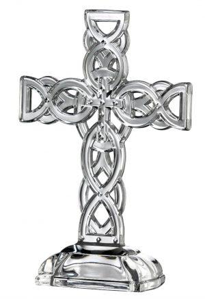 Galway Crystal Celtic Cross 34002
