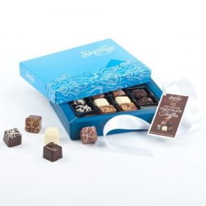 Skellig Chocolate 10 Truffle Box