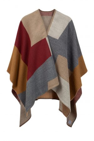 Jimmy Hourihan patchwork Design Shawl