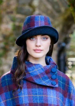 Womens Tweed Clodagh Hat