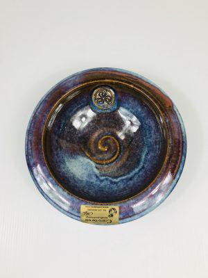 Colm De Ris Blue Newgrange Bowl