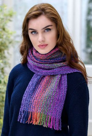 Mucros Multi Color Skellig Scarf