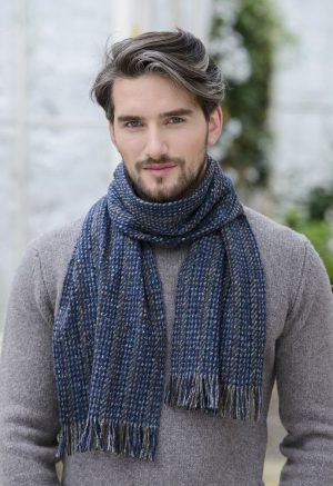 Mucros Donegal Tweed Scarf