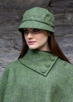Mucros Green Flapper Hat 51