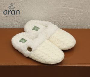 Kids Aran Slippers r691