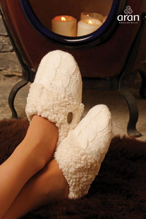 Adult Wool Irish Slippers