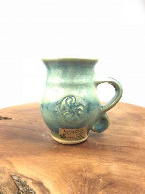 Colm De Ris Green Belly Mug