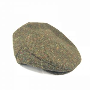 Green Tweed Cap John hanly h36