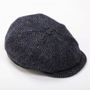 John Hanly Denim Tweed Cap h27