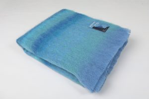 Foxford Wild Atlantic Way Mohair Blanket throw