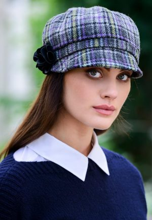 Mucros Weavers Ladies Newsboy Cap