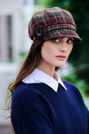 Mucros Ireland Ladies Newsboy Cap