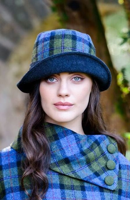 Mucros Green Blue Clodagh Hat- Skellig Gift Store Waterville 3cc3fdd9fdbb