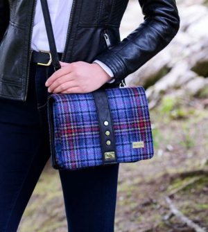 Mucros Weavers Check Fiona bag