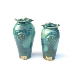 Colm De Ris Green Medium Mantra Vase