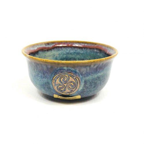 Colm De Ris Blue Ceral Bowl stoneware pottery
