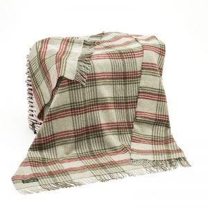 John Hanly Wool Blanket Throw