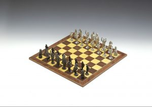 Mullingar Pewter Chess Board Set