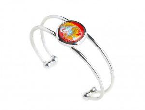Meab Adjustable Bracelet Fiery Red
