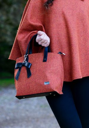 Mucros Weavers Orange Niamh bag