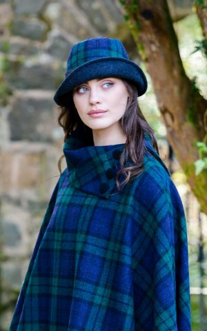 Mucros Black Watch Clodagh Hat