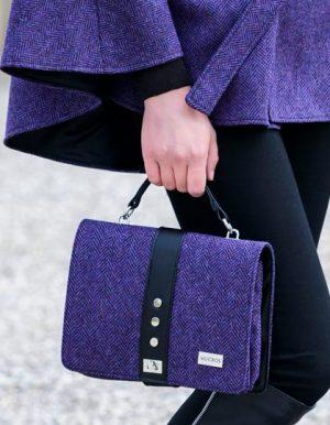 79d409fd4c  Mucros Purple Fiona Bag 213