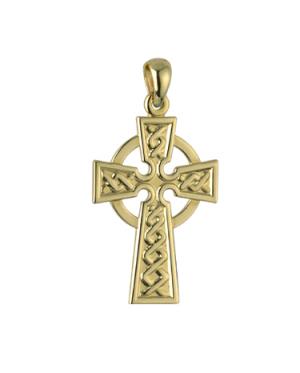 Solvar 14k Celtic Cross Charm s8305