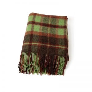 John Hanly Green Wool Blanket 185