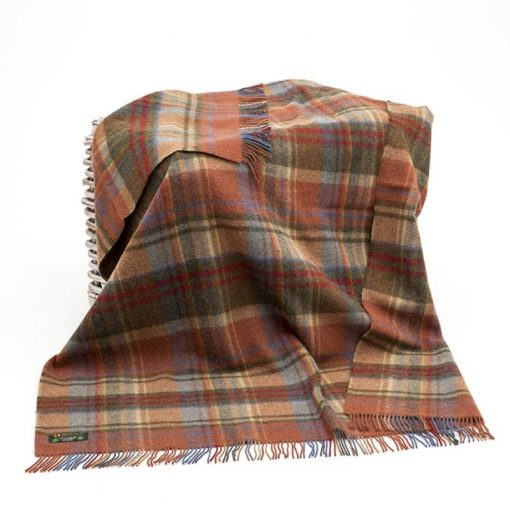 John Hanly Large Rust Blanket lw153