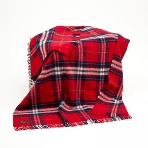John Hanly Large Red Blanket lw112