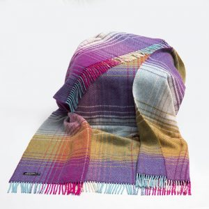 John Hanly Bright Cashmere Blanket