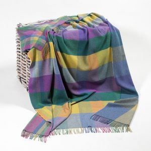 John Hanly Bright Color Blanket
