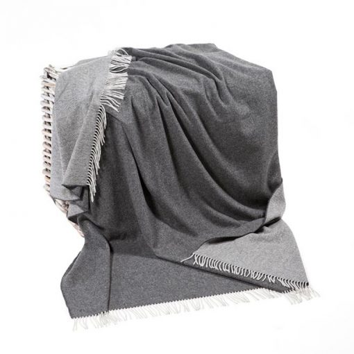John Hanly Silver Gray Blanket