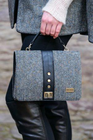 Mucros Weavers Gray Fiona Bag