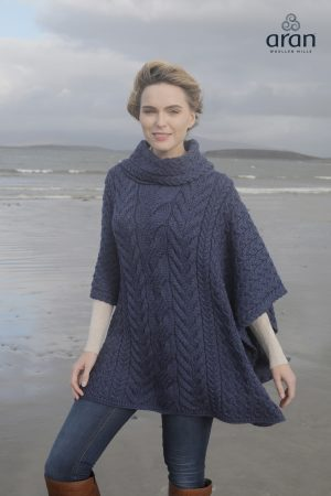 Super Soft Merino Wool Poncho