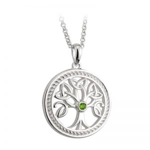 Solvar Sterling Silver Tree of Life Pendant