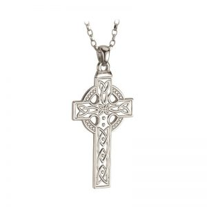 Gents Sterling Silver Celtic Cross