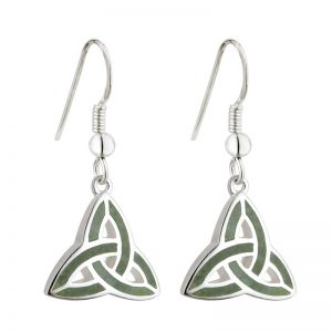 Solvar Trinity Connemara Marble Earrings s33301