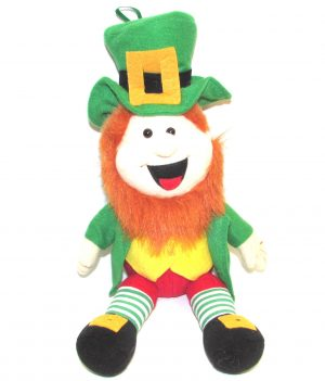 Irish Leprechaun Soft Toy