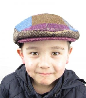 kids tweed cap by John Hanly