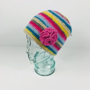 Hand knit Beanie Hat By Erin Knitwear