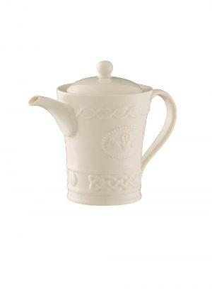 Belleek Claddagh Teapot