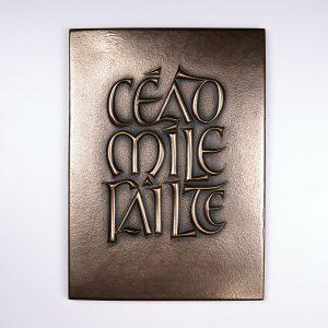 Céad Míle Fáilte Plaque