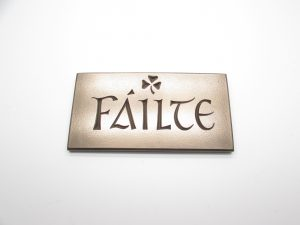 Wild Goose Failte Wall Plaque