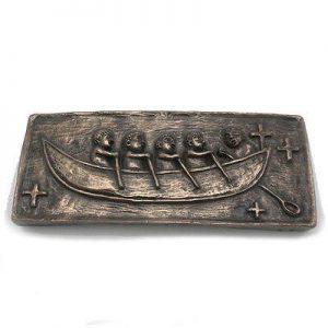 Bronze Large St. Brendan's Boat