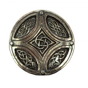 Wild Goose Bronze Celtic Circle Cross