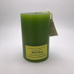 Valentia Candle Plain Well Being