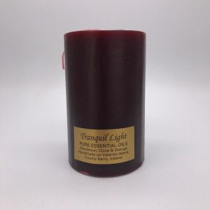 Valentia Candle Large Cinnamon & Clove