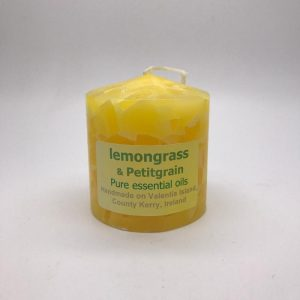 Valentia Irish Candle Lemongrass Petitgrain