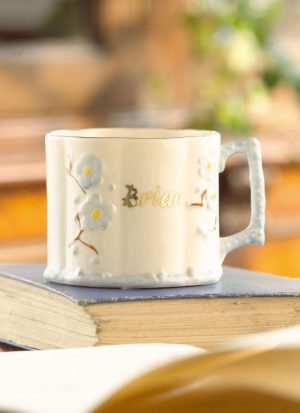 Belleek Personalized Baby Boy Mug